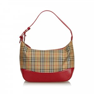 Burberry House Check Nylon Shoulder Bag