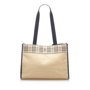 Burberry House Check Nylon Tote Bag
