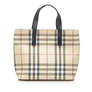 Burberry House Check PVC Handbag
