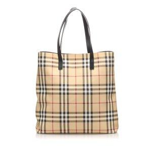 Burberry House Check Tote Bag