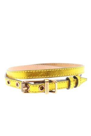 Burberry Cintura fianchi giallo pallido stile casual