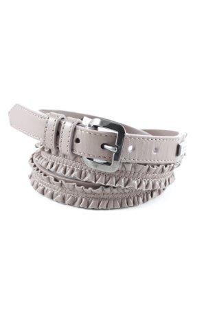 Burberry Hip Belt grey lilac Logo Application Metal