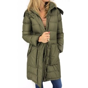 Burberry Down Jacket green grey polyester