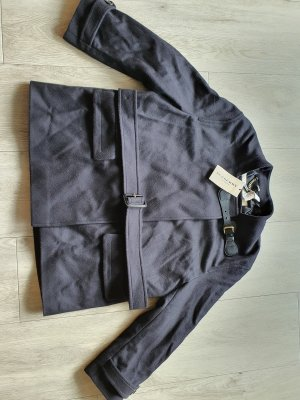 Burberry London Short Jacket anthracite wool