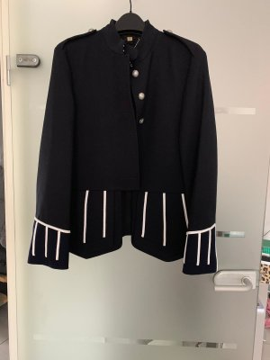 Burberry Military Jacket dark blue