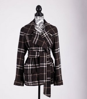 Burberry Wool Jacket multicolored wool