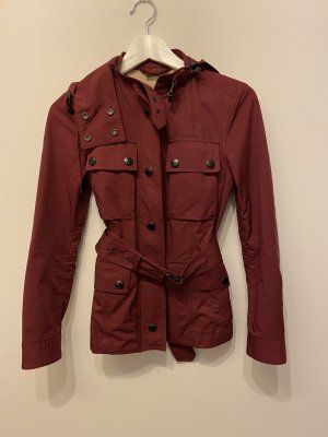 Burberry Between-Seasons Jacket carmine