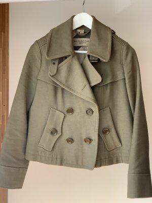 Burberry Jacke Coat Khaki kurz Übergangsjacke