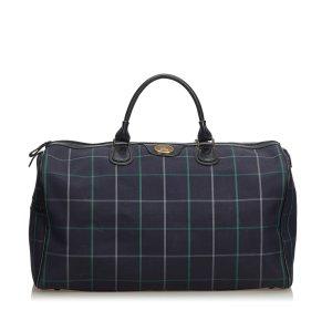 Burberry Jacquard Travel Bag