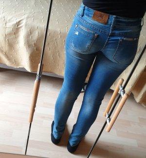 Burberry Tube Jeans azure-cornflower blue