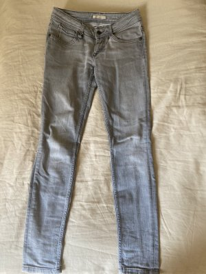 Burberry Jeans skinny gris clair-gris