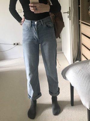 Burberry High Waist Jeans azure