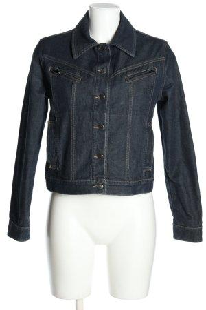 Burberry Veste en jean bleu style décontracté