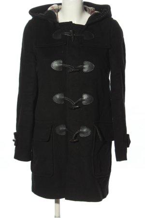 Burberry Hooded Coat black casual look