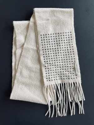 Burberry Cashmere Scarf natural white-silver-colored