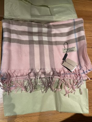 Burberry Cashmere Scarf pink