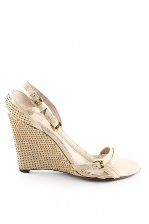 Burberry Keil-Pumps creme Casual-Look