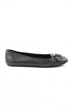 Burberry Classic Ballet Flats black business style