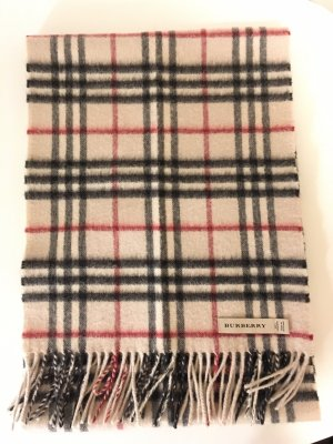 Burberry Cashmere Scarf natural white