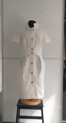 Burberry Vestido a media pierna blanco-blanco puro