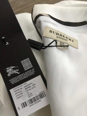 Burberry Prorsum Sukienka z krótkim rękawem biały-czarny