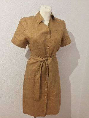Burberry Midi Dress bronze-colored