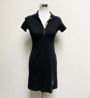 Burberry Vestido tipo polo negro
