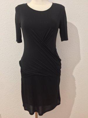 Burberry Midi Dress black modal fibre