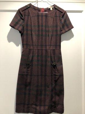 Burberry Brit Robe en laine bordeau