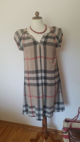 Burberry Woolen Dress multicolored