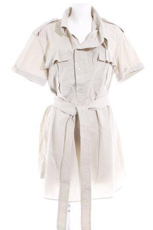 Burberry Kurzarmkleid beige Business-Look