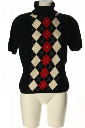Burberry Kurzarmpullover grafisches Muster Casual-Look