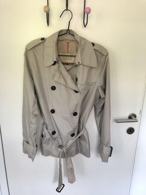 Burberry kurzer Trenchcoat für Frauen, regenfest