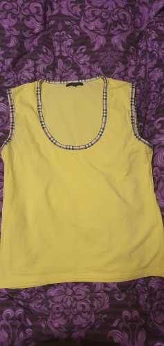 Burberry London T-Shirt yellow