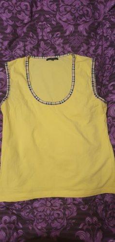 Burberry London T-shirt jaune