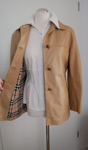 Burberry Leather Jacket multicolored