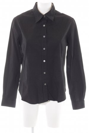 Burberry Long Sleeve Shirt black business style