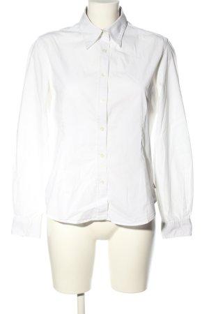 Burberry Chemise à manches longues blanc style d'affaires