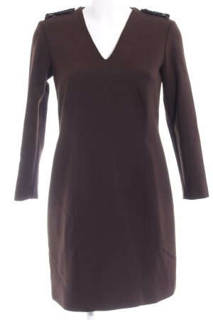 Burberry Longsleeve Dress dark brown-black elegant
