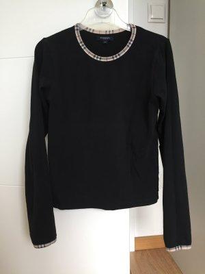 Burberry Kraagloze sweater veelkleurig Katoen