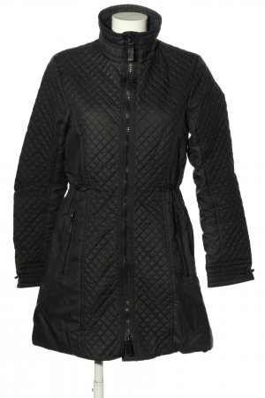 Burberry Steppmantel schwarz Steppmuster Casual-Look