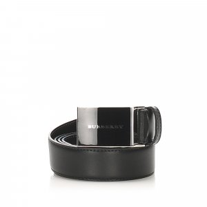 Burberry Belt black leather