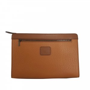 Burberry Clutch brown leather