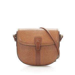 Burberry Crossbody bag brown leather