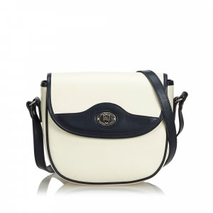 Burberry Crossbody bag white leather