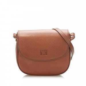 Burberry Crossbody bag light brown leather
