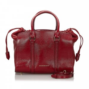 Burberry Leather Dinton Satchel