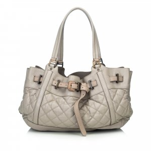 Burberry Leather Enmore Shoulder Bag