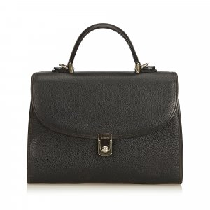 Burberry Handbag black leather