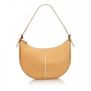 Burberry Hobos beige leather
